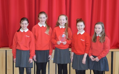 Cairnshill Primary School celebrates winning Good Diabetes Care in School Award