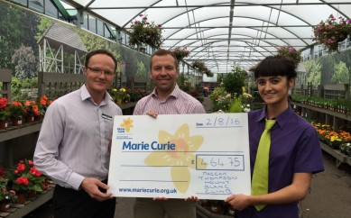 Maccah's Climb Pays Off For Marie Curie Thanks To Hillmount Customers