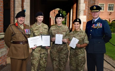 HONOURS AND GOLD AT QUEEN'S FOR EAST BELFAST CADETS