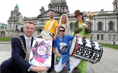 Celebrate Belfast at City Hall on Lord Mayor's Day
