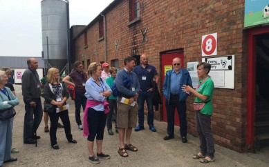 FIRST VISIT TO BELFAST BY NATIONAL FARM ATTRACTIONS NETWORK