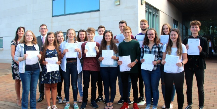 A Level Examination Success 2017