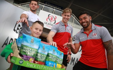 Ulster Rugby 'Converts' to Local Crisps