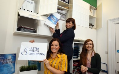 IKEA strike a chord with Ulster Youth Orchestra Office
