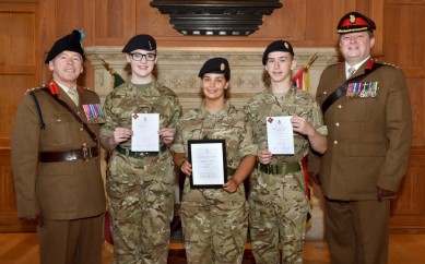 EAST BELFAST CADETS CELEBRATE SUCCESS