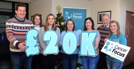 Irwin's Bakery reaches £20,000 for Cancer Focus NI