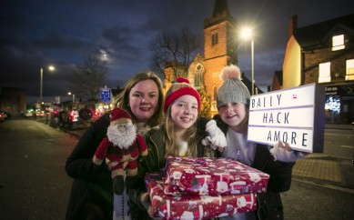 BALLYHACKAMORE IS FILLED WITH FAMILY FESTIVE TREATS THIS CHRISTMAS