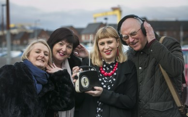 ARTFUL AGEING GETS CARERS SWITCHED ONTO RADIO DRAMA