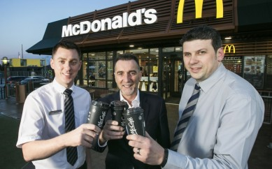 MCDONALD'S BRINGS NEW LOOK RESTAURANT TO EAST BELFAST WITH VIBRANT AND VISIONARY CHANGES