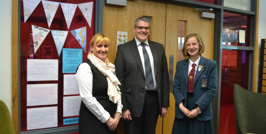 Visit of East Belfast MP to Strathearn