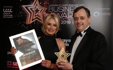 'Rising Star' Sarah Gallagher recognised with top business award