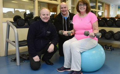 Hanwood's new gym equipment is fit for the future
