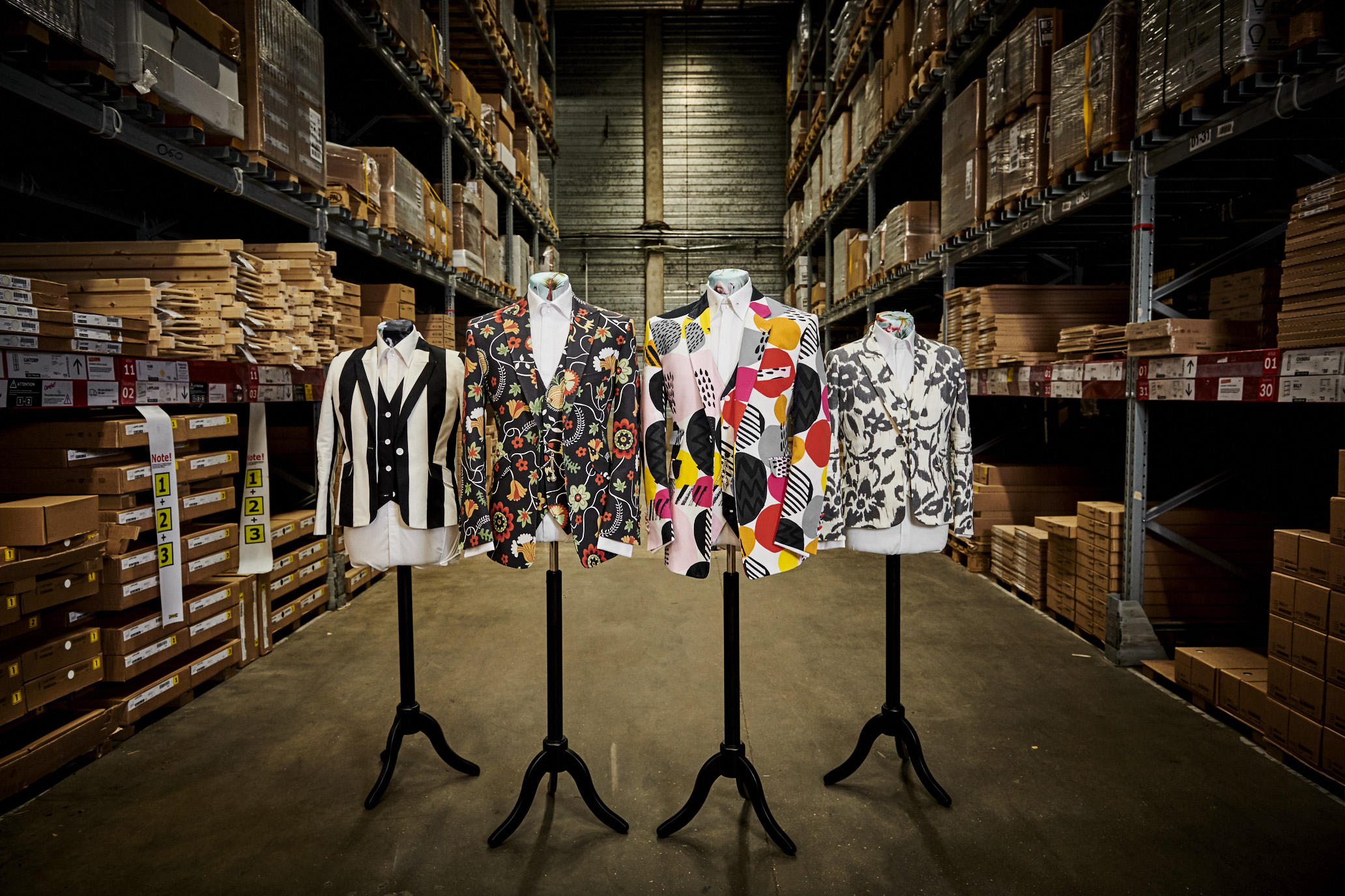 b11bd13935 IKEA has partnered with Savile Row tailor William Hunt to bring these ideas  to life