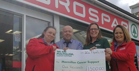 Memory of former colleague honoured by staff for Macmillan Cancer Support