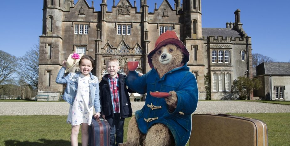 PADDINGTON MAKES EXCLUSIVE APPEARANCE AT GLENARM CASTLE THIS SPRING