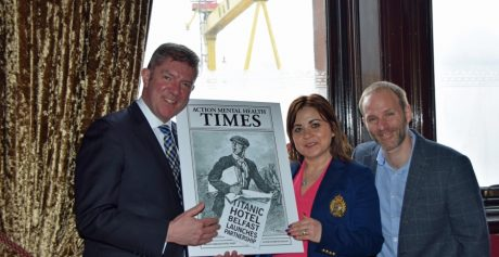 Read All About It… Titanic Hotel Belfast Launches Partnership with Action Mental Health