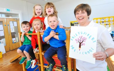 'Outstanding' Result for Crawfordburn Playgroup
