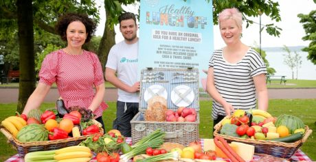 HEALTHY LUNCH OFF LAUNCHED IN COUNTY ANTRIM!