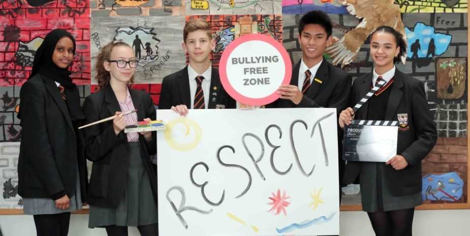 Local Schools AND Youth Organisations URGED To Register for Anti-Bullying Week 2018  AND TAKE PART IN CREATIVE COMPETITION