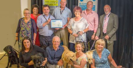 Volunteers celebrated at Guide Dogs NI awards