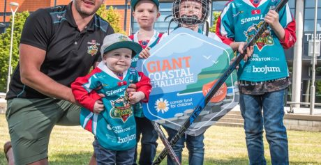 TAKE GIANT STEPS TO SUPPORT LOCAL KIDS WITH CANCER