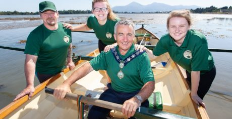 SKIFFIE FESTIVAL READY TO ROW INTO STRANGFORD LOUGH  FOR THIRD YEAR