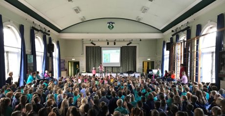 H&J Martin Construction encourages children to Stay Safe and Play Safe