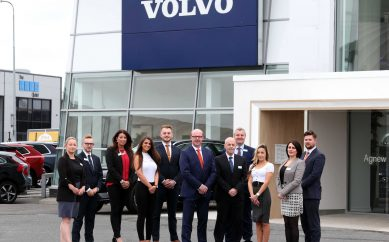 Agnew Belfast Unveils New £2.7 Million State of the Art Volvo Showroom