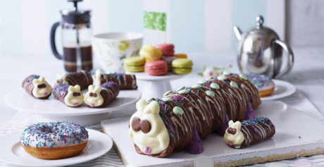 The most iconic caterpillar gets 'Macmillan makeover' to help raise funds for World's Biggest Coffee Morning event