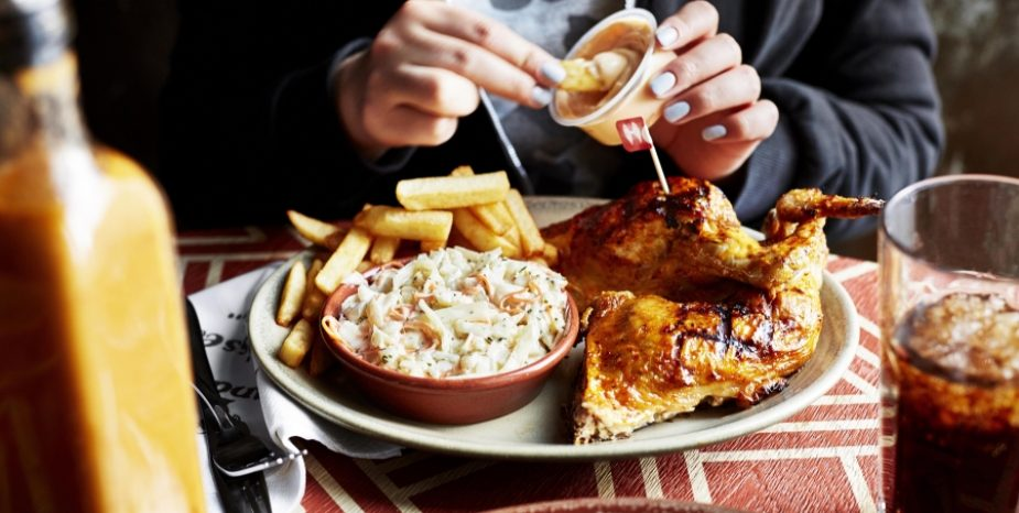 What a result! Nando's offers free Halloumi Sticks or ¼ chicken for all A-Level students