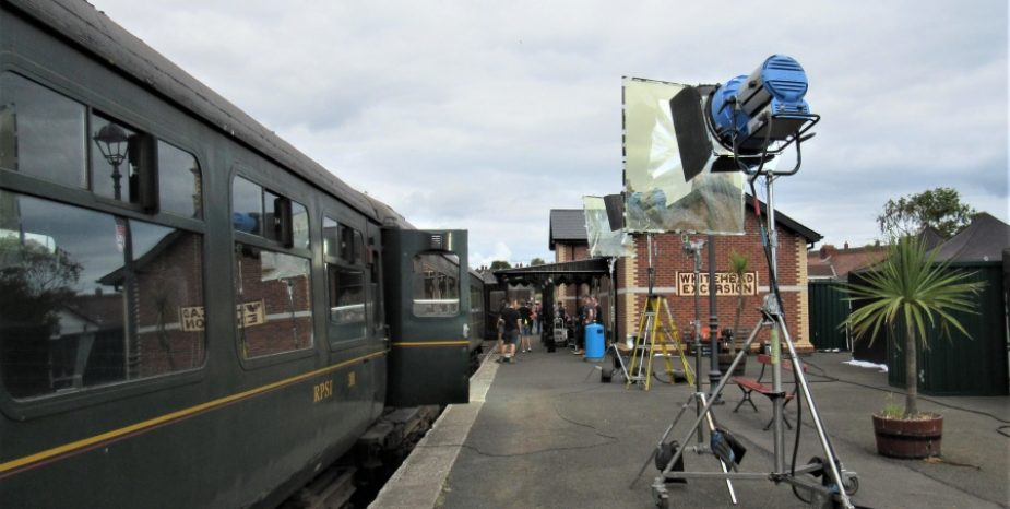 LIGHTS, CAMERA, ACTION AT WHITEHEAD RAILWAY MUSEUM