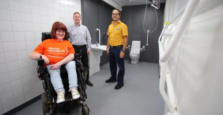 IKEA BELFAST IS THE CITY'S FIRST SOLE RETAILER TO INSTALL CHANGING PLACES TOILET FACILITY