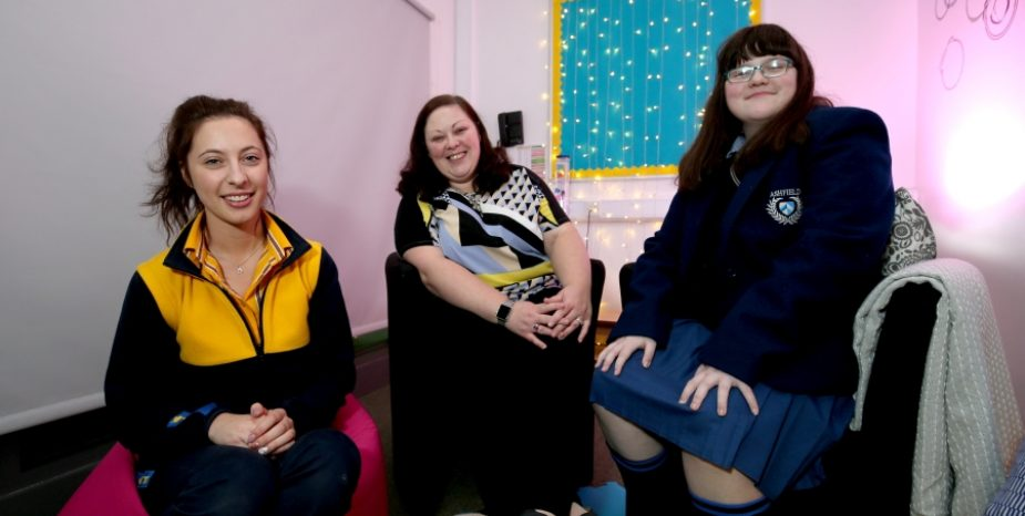 High School pupil creates 'The Sanctuary' for fellow pupils with help from IKEA Belfast