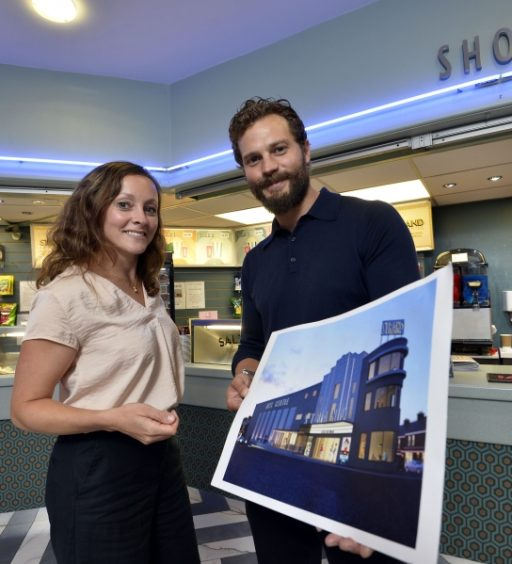 Jamie Dornan champions Strand Arts Centre's refurbishment plans