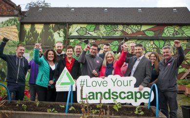 Hundreds of NI employees out in force for #LoveYourLandscape Day