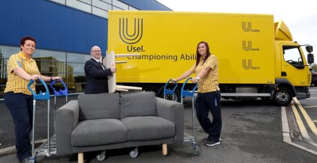 IKEA Belfast partners with local social enterprise to recycle furniture for families in need