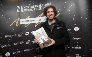 Gary Lightbodyreceived the'Outstanding Contribution to Music'award in Belfast.
