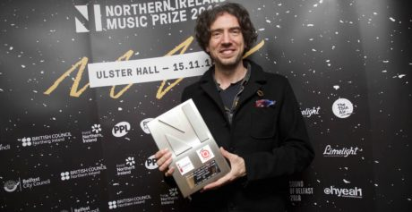 Gary Lightbody received the 'Outstanding Contribution to Music' award in Belfast.