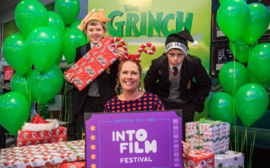 NI children enjoy East Belfast premiere of Grinch as Into Film Festival opens