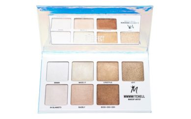 Shine From The Heavens With The New   Sub Zero Highlighter Palette   by BPerfect Cosmetics & MMMMitchell
