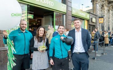 Freshly Chopped promotes health and wellbeing with Belfast's first Sweat Party