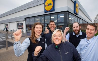 Lidl Northern Ireland contributes an incredible £420k to charitable causes in 2018