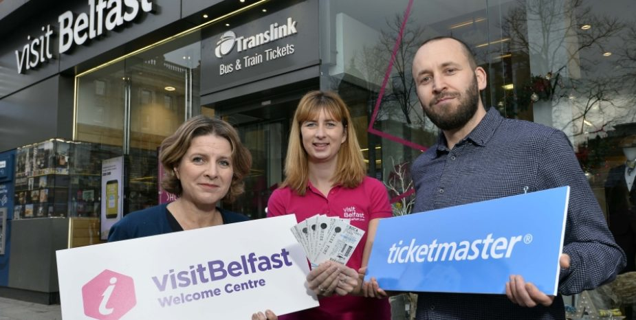 Ticketmaster on the move in Belfast