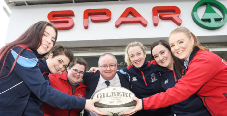 Belfast retailers in the ruck with local women's rugby team
