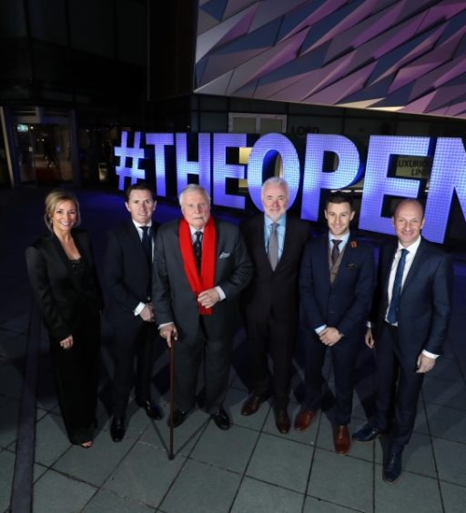 'Eyes on The Open' celebration marks build up to biggest ever event for Northern Ireland