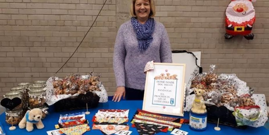 Local lady Carol bakes up a treat for Guide Dogs NI