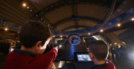 Tim Peake's spacecraft 'lands' at Ulster Transport Museum
