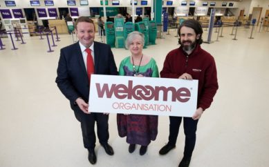 BELFAST CITY AIRPORT 'WELCOMES' CHARITY OF THE YEAR