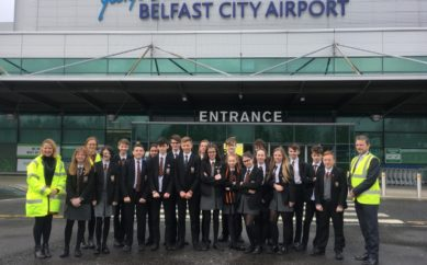 BELFAST CITY AIRPORT HOSTS ENGINEERS OF THE FUTURE
