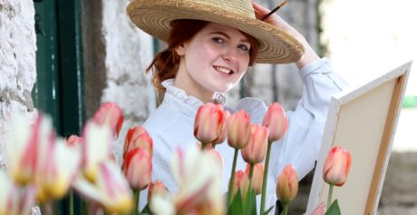 HOP TO THE TULIP FESTIVAL AT GLENARM CASTLE THIS BANK HOLIDAY WEEKEND